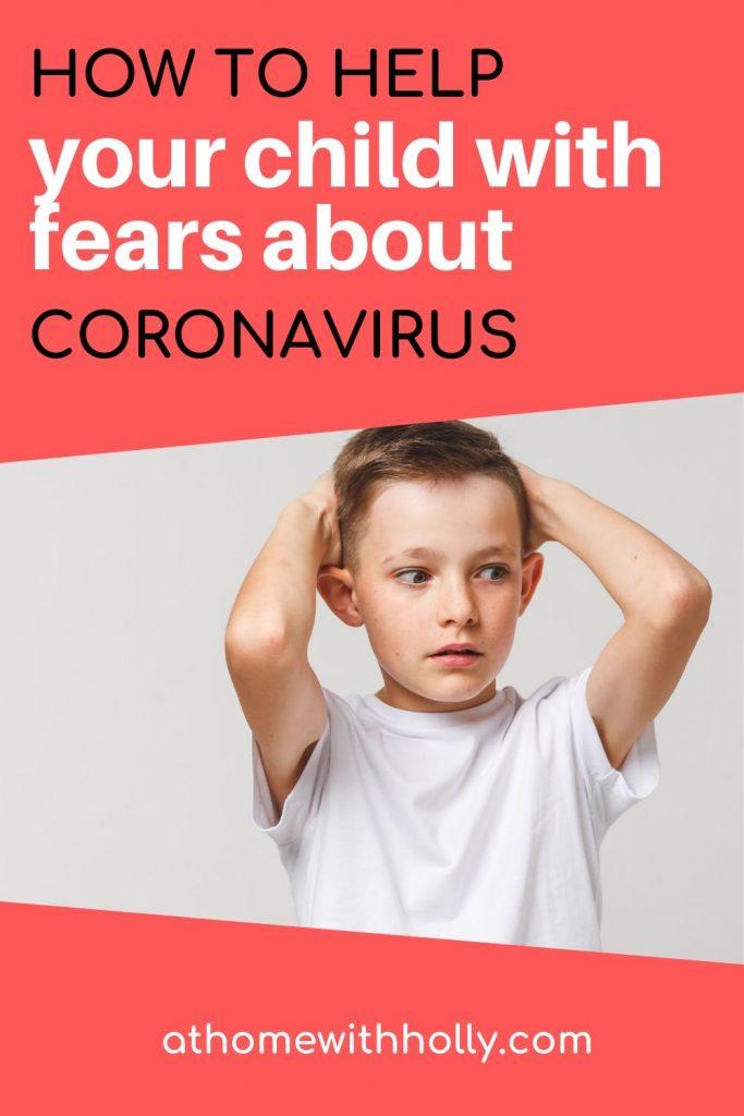 How To Help Children With Coronavirus fears